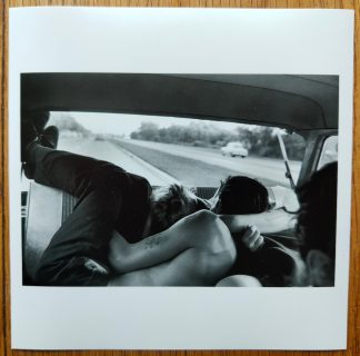 The Magnum Square Print of Back seat of a car by Bruce Davidson