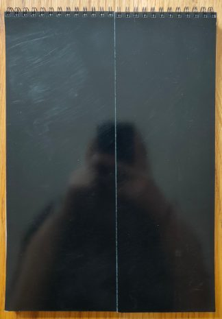 The photography book cover of TEIKAI: Wandering at Midnight by Daisuke Yokota. In softcover black gloss.