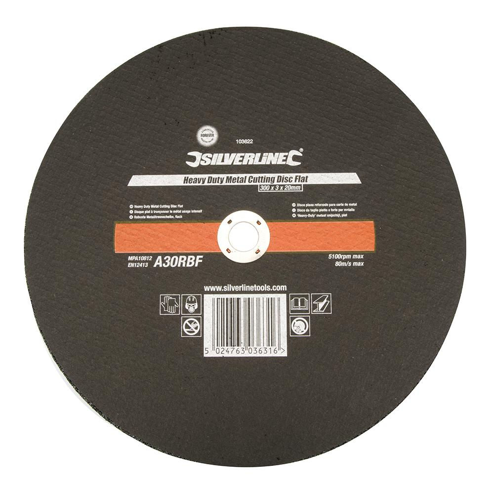 #380650 Silverline Stone Cutting Flat Discs 230 x 3x22.2mm grinding MPA Approved