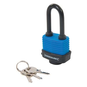 Weather-Resistant Padlock Long Shackle