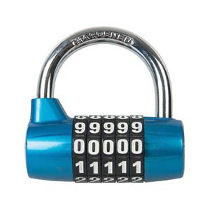 Zinc Alloy 5-Digit Combination Padlock