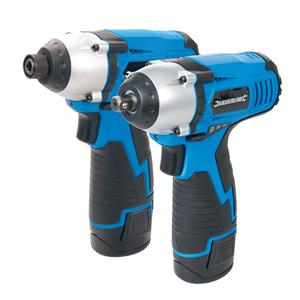 10.8V Twin Pack Impact Wrench & Impact Driver