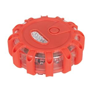 Luz LED de emergencia color rojo