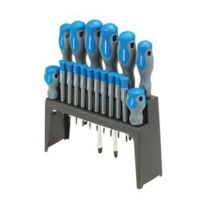 Soft-Grip Screwdriver Set 18pce