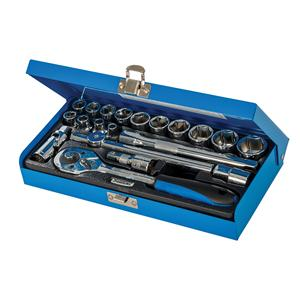 "Socket Wrench Set 3/8"" Drive Metric 20pce"