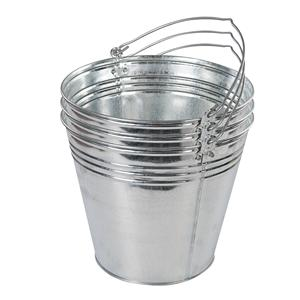 Galvanised Bucket 3pk