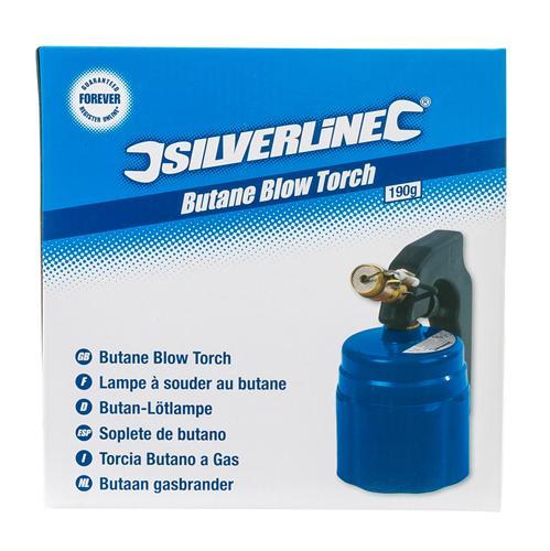Silverline Butane Gas Blow Torch