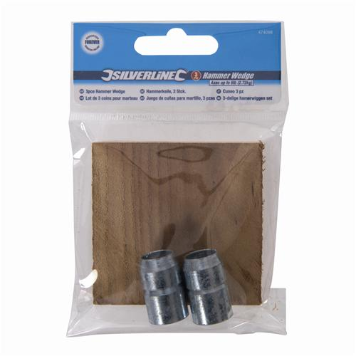 1lb Silverline Tools Silverline 778771 Hammer Wedge 3pce 4oz 113-454g