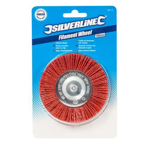 Filament Wheel 100mm Coarse Filament Wheel