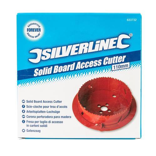 Silverline 633732 Solid Board Access Cutter 110 mm DIY Tools & Workshop Equipment Home, Furniture & DIY