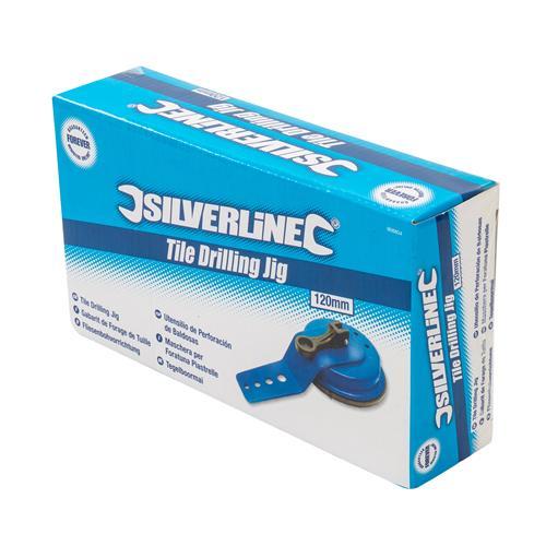120 mm Silverline 868804 Tile Drilling Jig