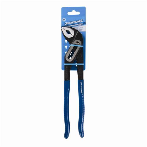 Silverline PL22 Slim Mâchoire pompe à eau Pince 250 mm-Mâchoire capacité 40 mm
