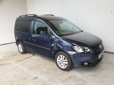 Image of 2015 VOLKSWAGEN CADDY LIFE DISABLED RAMP 1598cc Diesel AUTO FWD MPV