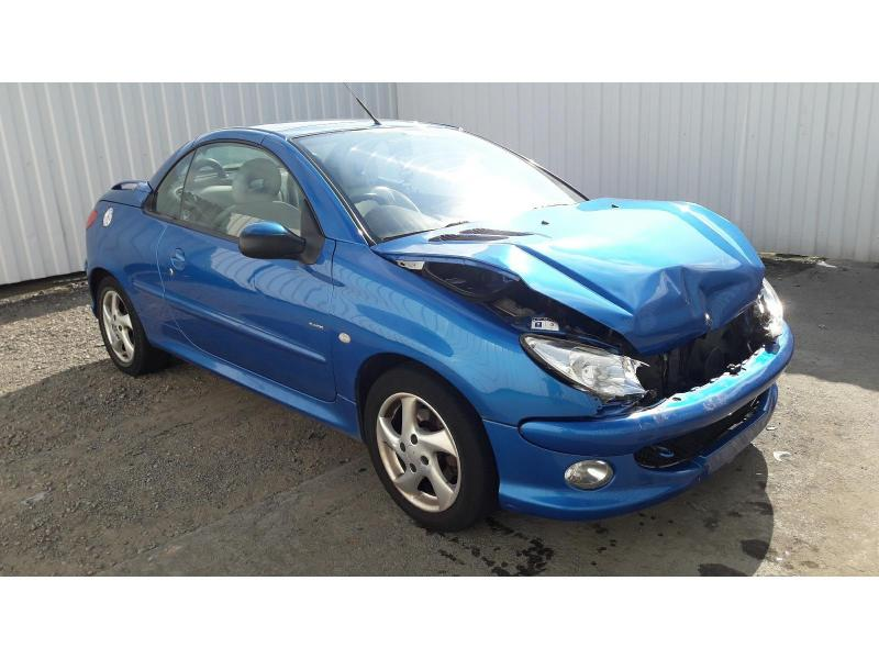 2005 PEUGEOT 206URE S COUPE CABRIOLET 1587cc PETROL MANUAL 5 Speed 2 DOOR CONVERTIBLE
