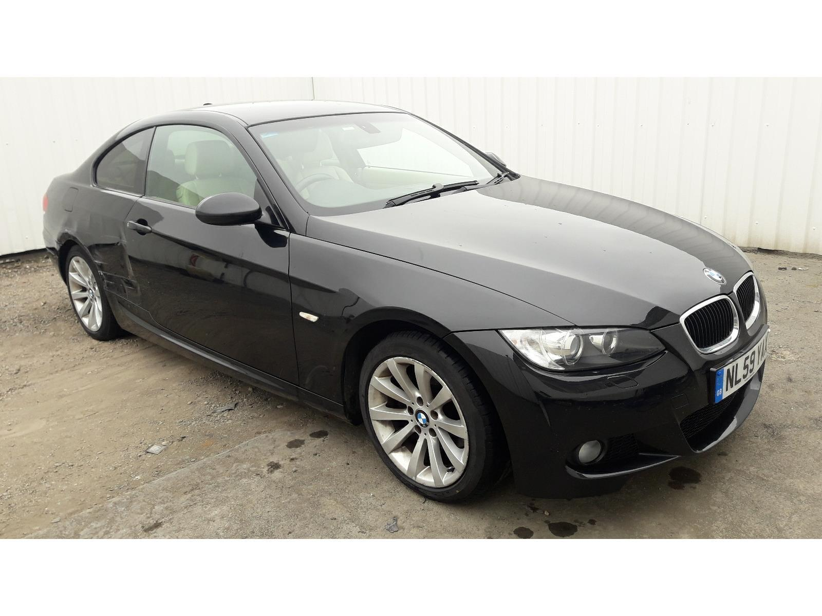 2009 BMW 3 SERIES 320D M SPORT HIGHLINE 1995cc TURBO DIESEL AUTOMATIC 6 Speed 2 DOOR COUPE