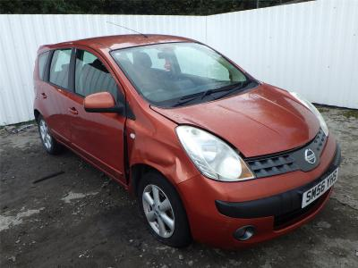Image of 2007 NISSAN NOTE SE 1598cc PETROL AUTOMATIC 4 Speed 5 DOOR MPV