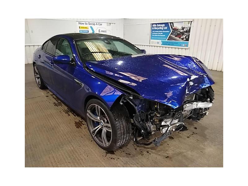 2016 BMW 6 Series M6 GRAN COUPE 4395cc TURBO Petrol Semi Auto 7 Speed COUPE