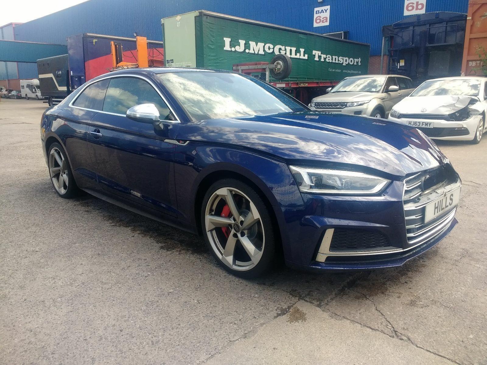 2017 Audi A5 S5 TFSI QUATTRO 2995cc TURBO Petrol Automatic 8 Speed COUPE