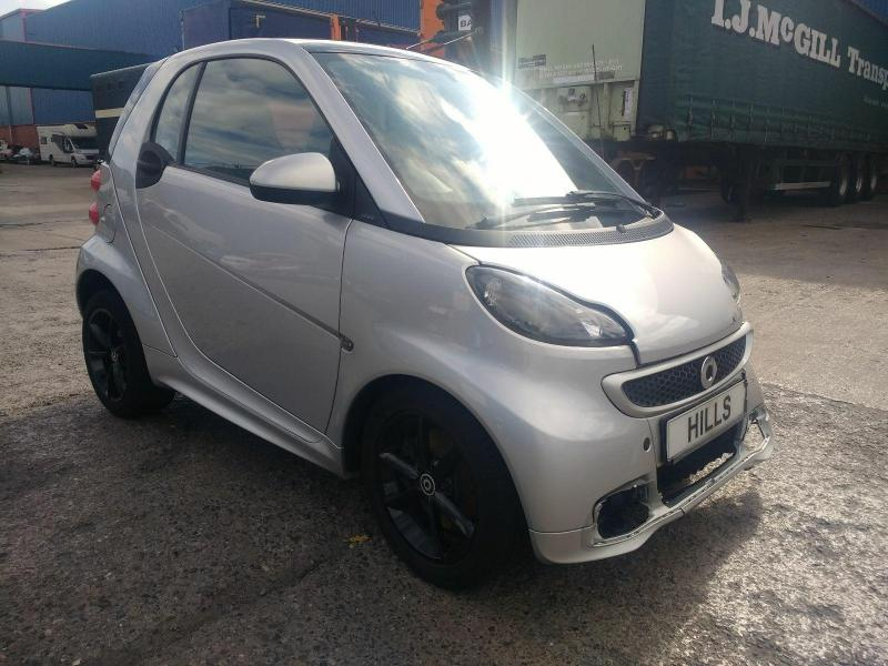2014 Smart FORTWO COUPE GRANDSTYLE EDITION 999cc TURBO Petrol Semi Auto 5 Speed COUPE