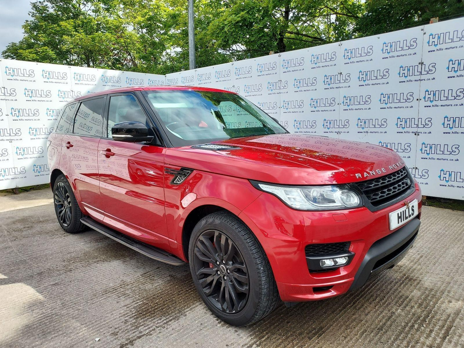 2015 Land Rover Range Rover Sport SDV6 AUTOBIOGRAPHY DYNAMIC 2993cc TURBO Diesel Automatic 8 Speed ESTATE