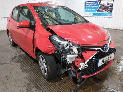 Image of 2015 Toyota Yaris HYBRID ICON 1497cc HYBRID ELECTRIC CVT 1 Speed 5 Door Hatchback