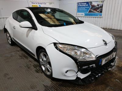 Image of 2011 Renault Megane DYNAMIQUE TOMTOM DCI ECO 1461cc TURBO Diesel Manual 6 Speed COUPE