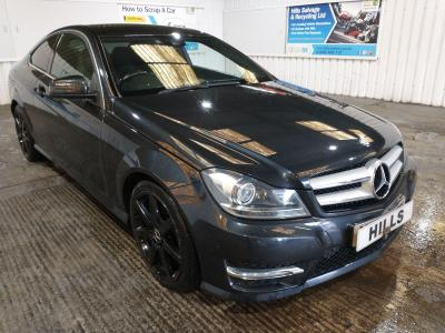 Image of 2012 MERCEDES C-Class C220 CDI BLUEEFFICIENCY AMG SP 2143cc TURBO Diesel Automatic 7 Speed COUPE