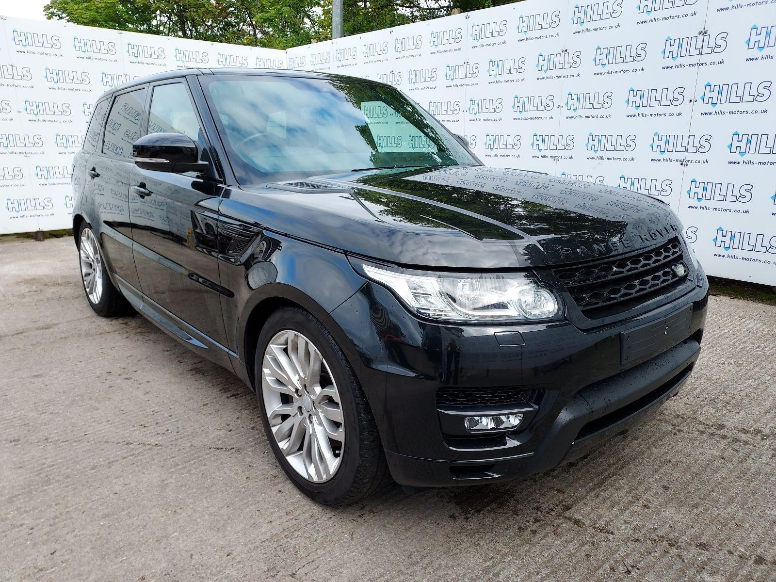 2017 Land Rover Range Rover Sport SDV6 HSE 2993cc TURBO Diesel Automatic 8 Speed ESTATE