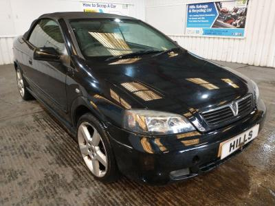 Image of 2005 Vauxhall Astra EXCLUSIVE 16V 1796cc Petrol Manual 5 Speed CONVERTIBLE