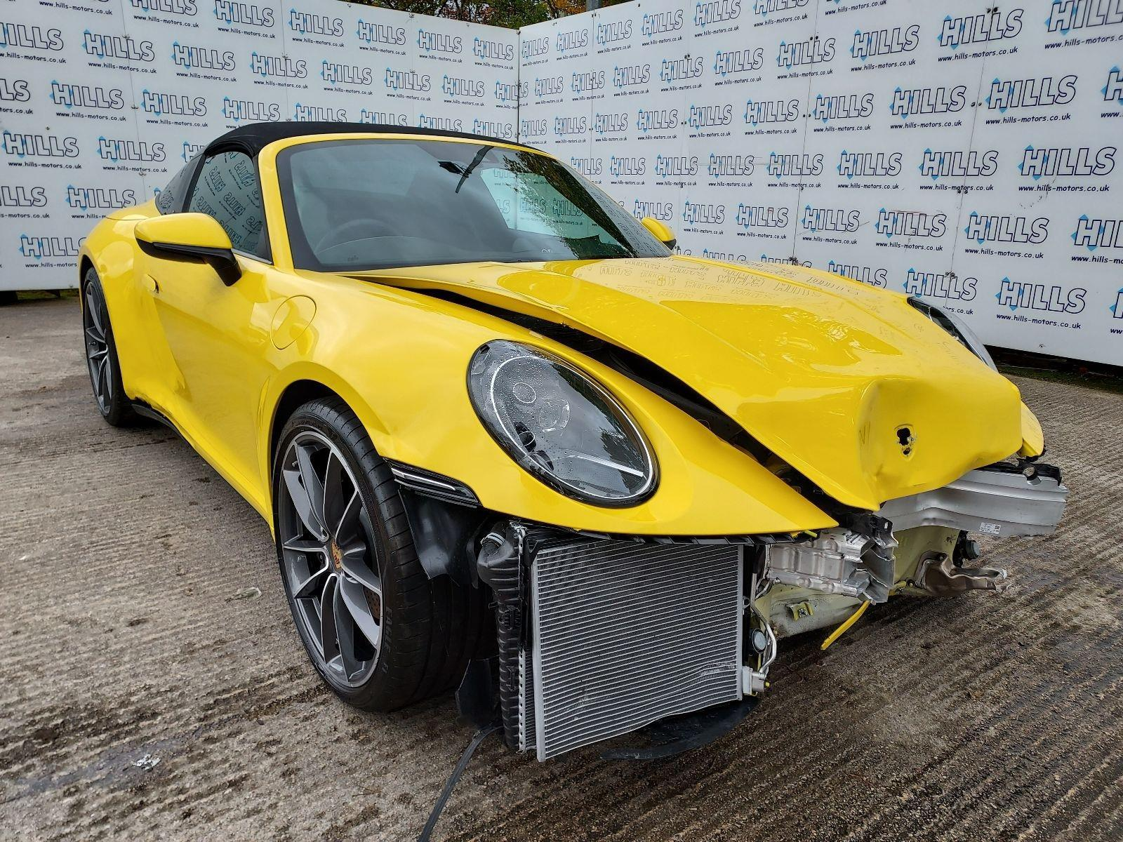 2021 Porsche 911 TARGA 4 PDK 2981cc TURBO Petrol Automatic 8 Speed CONVERTIBLE