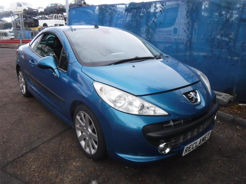 2008 PEUGEOT 207 GT COUPE CABRIOLET 1598cc PETROL MANUAL 5 Speed 2 DOOR CONVERTIBLE