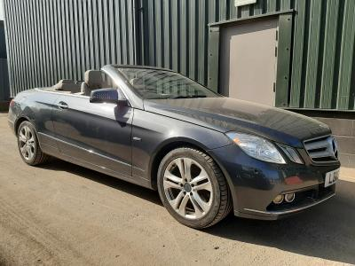 Image of 2010 MERCEDES E-CLASS E350 CDI BLUEEFFICIENCY SE 2987cc Turbo Diesel Automatic 7 Speed CONVERTIBLE