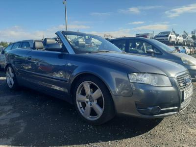 Image of 2008 AUDI A4 TDI S LINE 1968cc Turbo Diesel Manual 6 Speed CONVERTIBLE