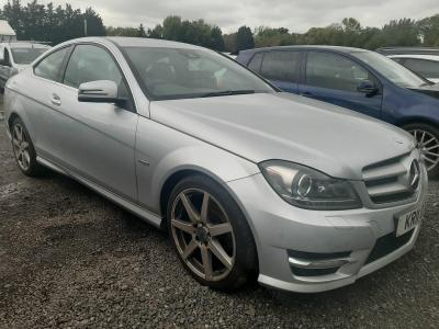 Image of 2011 MERCEDES C-CLASS C250 CDI BLUEEFFICIENCY AMG SP 2143cc Turbo Diesel Automatic 7 Speed Coupe