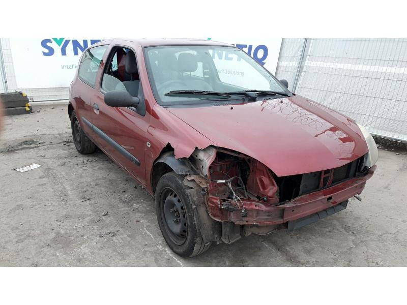 2003 RENAULT CLIO AUTHENTIQUE 8V 1149cc PETROL MANUAL 5 Speed 3 DOOR HATCHBACK