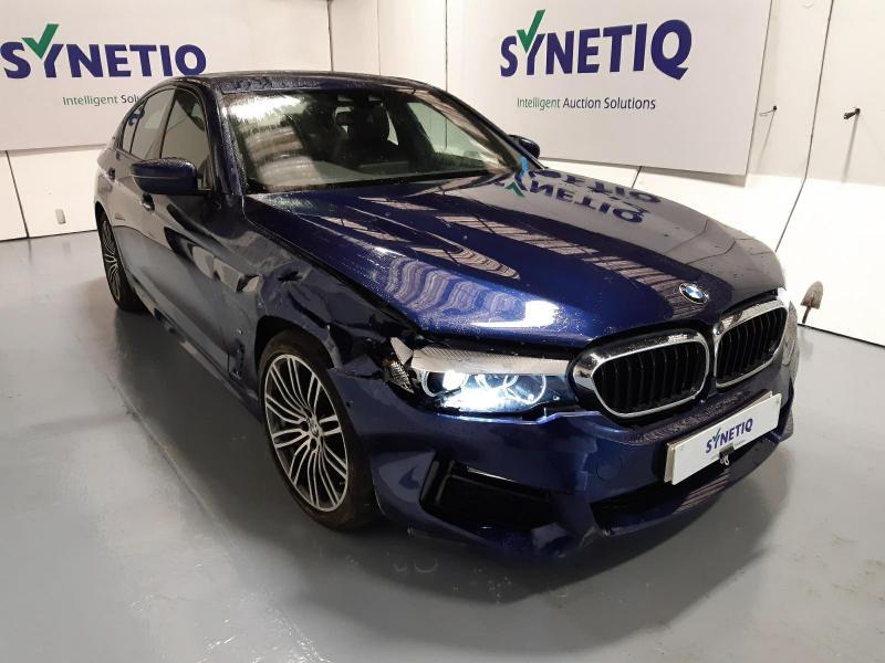 2018 BMW 5 SERIES 530E M SPORT 1998cc TURBO PETROL/ELECTRIC AUTOMATIC 4 DOOR SALOON