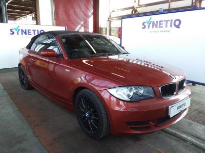 Image of 2009 BMW 1 SERIES 120D SE 1995cc TURBO DIESEL MANUAL 2 DOOR CONVERTIBLE