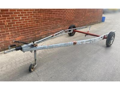 Image of TRAILER FRAME &amp AXLE