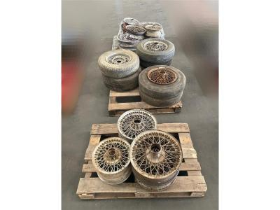 Image of ASSORTED WIRE WHEELS