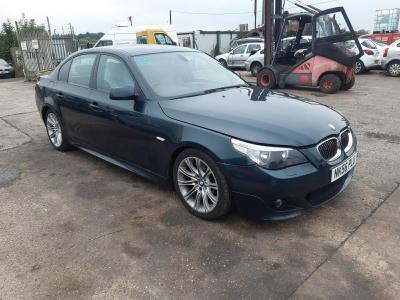Image of 2006 BMW 5 SERIES 525D M SPORT 2497cc TURBO 4 DOOR SALOON