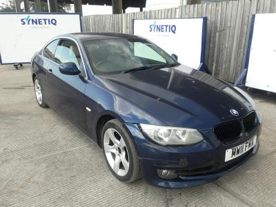 Image of 2011 BMW 3 SERIES 318I SE 1995cc PETROL MANUAL 6 Speed 2 DOOR COUPE