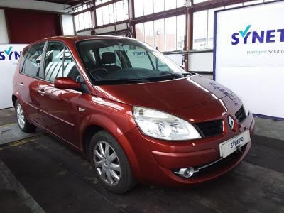 Image of 2008 RENAULT SCENIC DYNAMIQUE VVT 5STR 1598cc PETROL AUTOMATIC 4 Speed 5 DOOR MPV