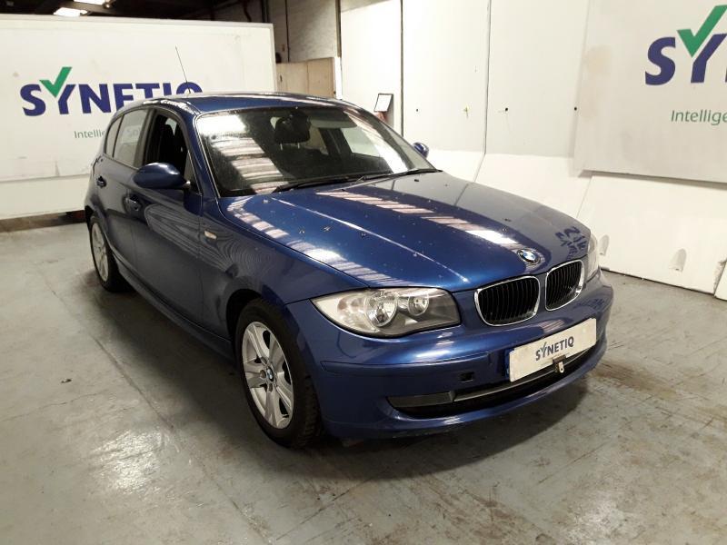 2009 BMW 1 SERIES 118D SE 1995cc TURBO DIESEL MANUAL 5 DOOR HATCHBACK