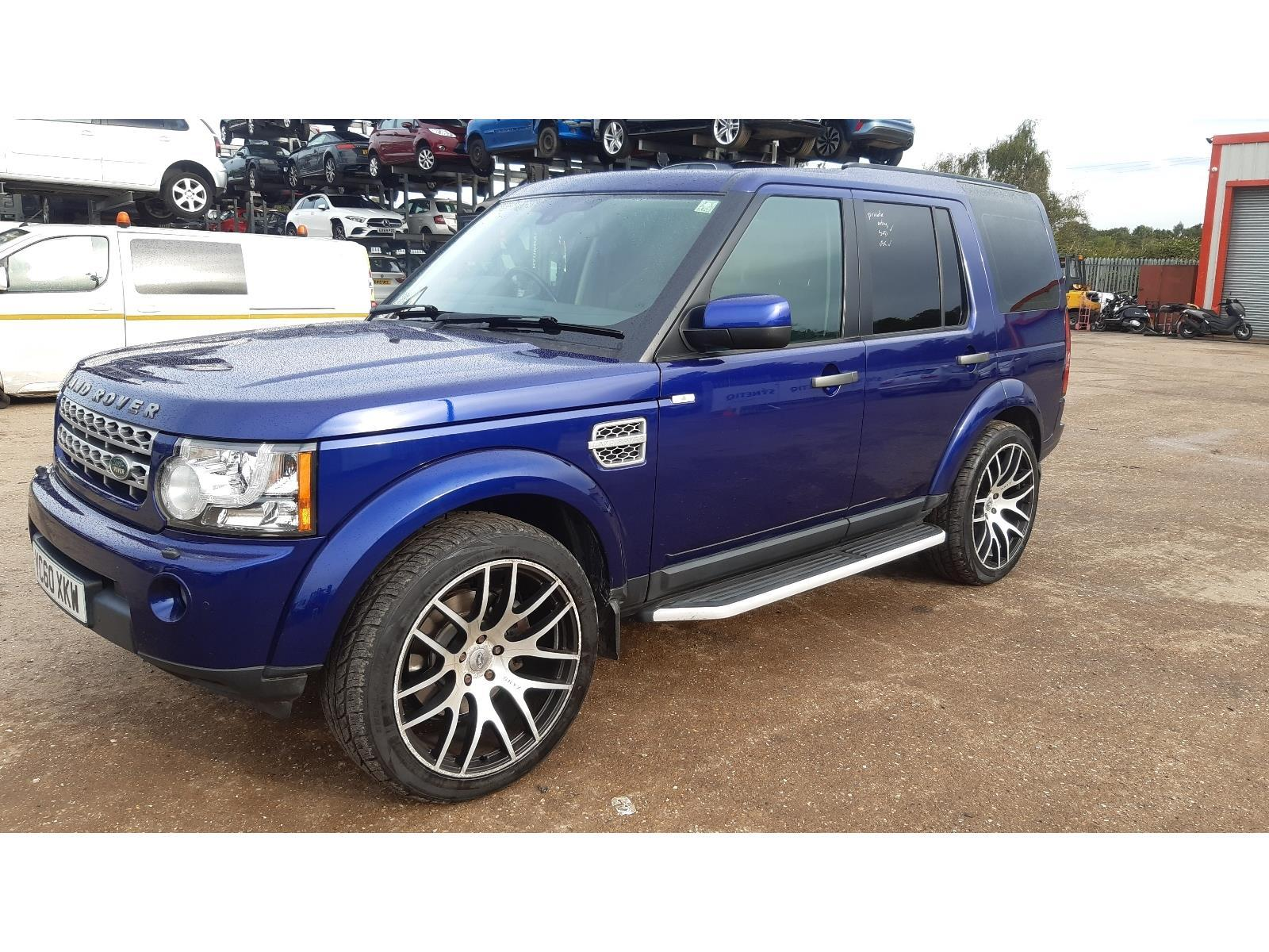 2010 LAND ROVER DISCOVERY 4 TDV6 XS 2993cc TURBO DIESEL AUTOMATIC 6 Speed 5 DOOR ESTATE