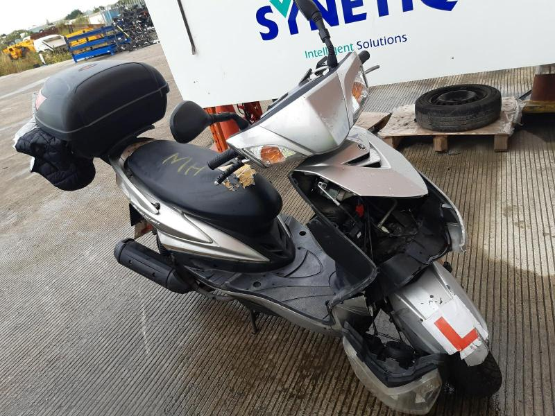 2009 YAMAHA XC 125 CYGNUS X 124cc MOTORCYCLE