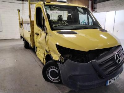 Image of 2019 MERCEDES SPRINTER 314 CDI 2143cc TURBO DIESEL MANUAL CHASSIS CAB
