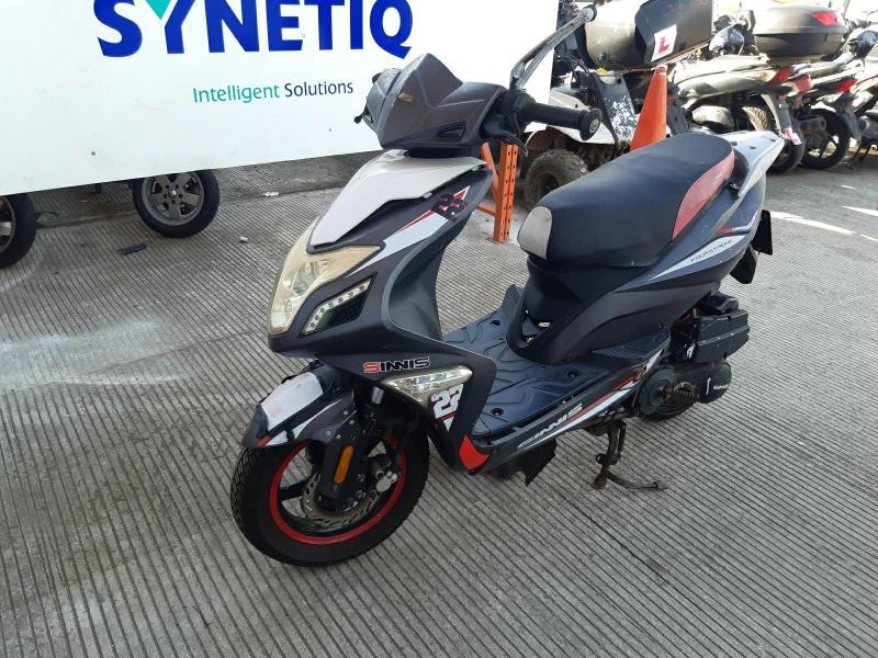 2017 ZNEN ZN 125 T-22 SPYDER 124cc MOTORCYCLE