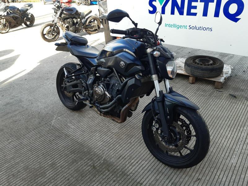 2017 YAMAHA MT 07 ABS 689cc MOTORCYCLE