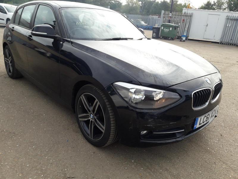2012 BMW 1 SERIES 116I SPORT 1598cc TURBO 5 DOOR HATCHBACK