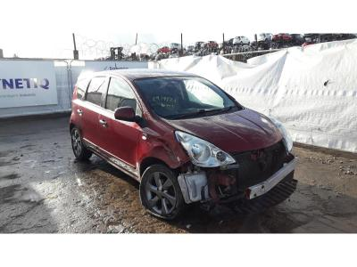 Image of 2010 NISSAN NOTE N-TEC 1598cc PETROL AUTOMATIC 4 Speed 5 DOOR MPV